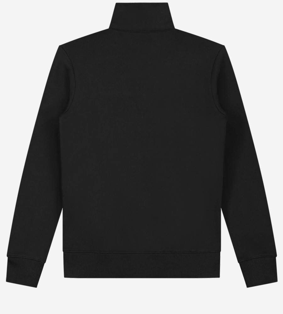 Effen sweater met grafisch logo afbeelding 3