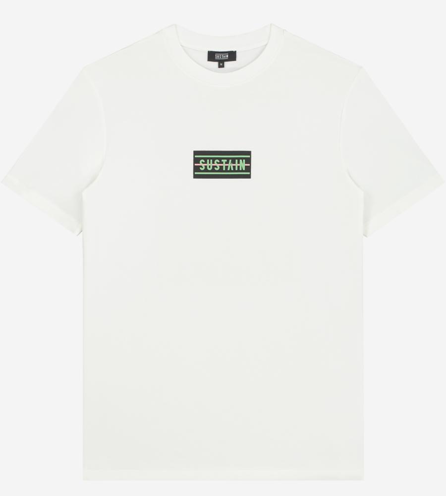 T-shirt met sustain logo afbeelding 1
