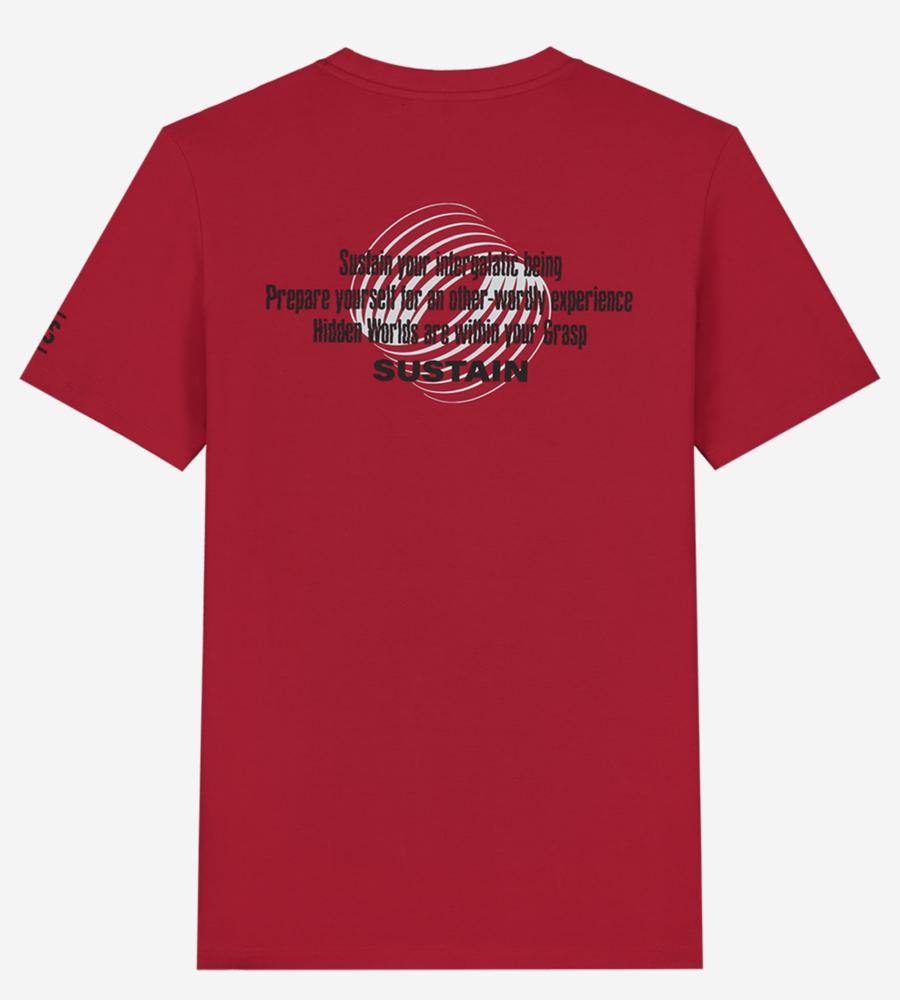 T-shirt met Sustain-artwork afbeelding 2