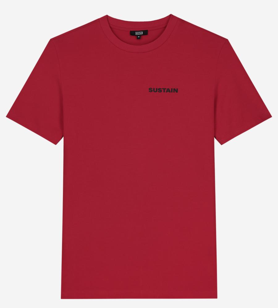 T-shirt met Sustain-artwork afbeelding 1