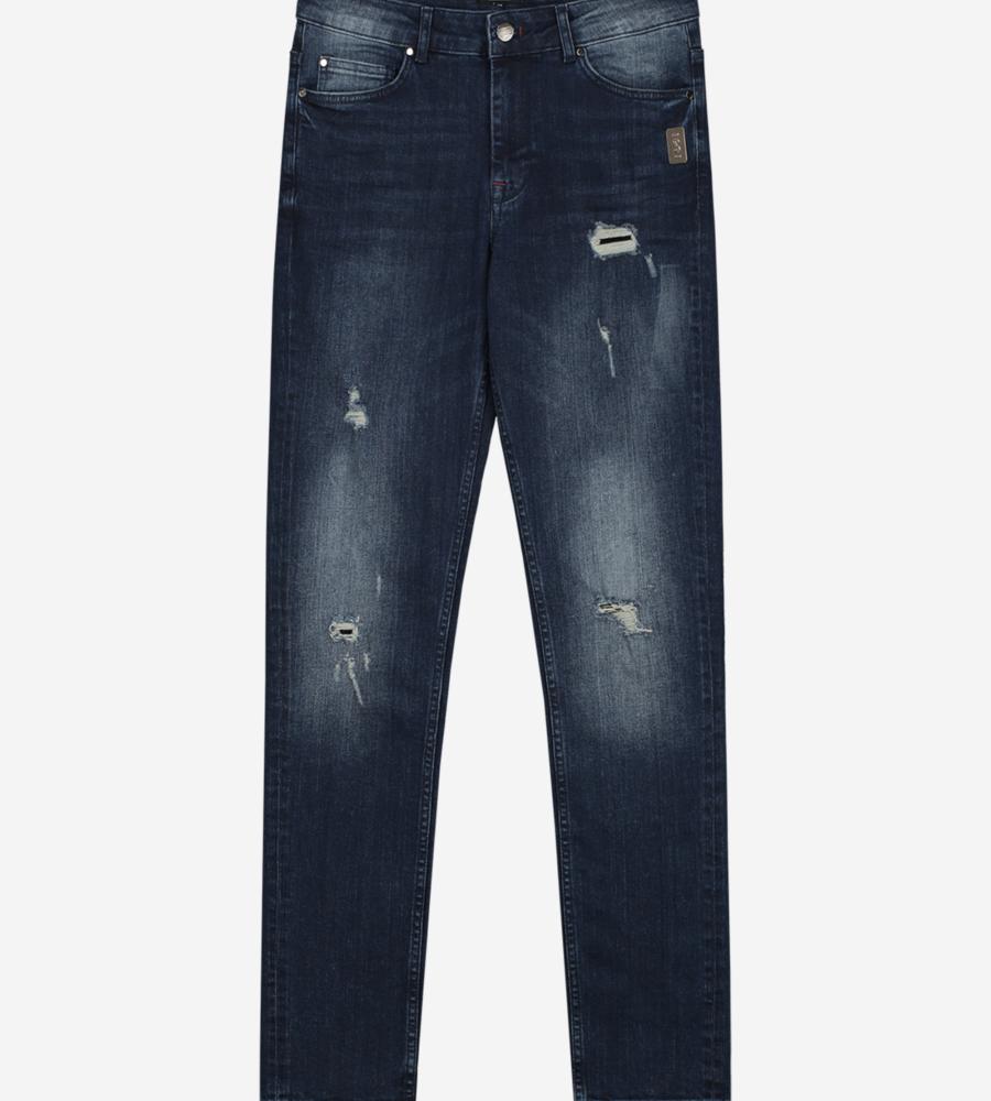 Jeans met Destroyed Details afbeelding 1