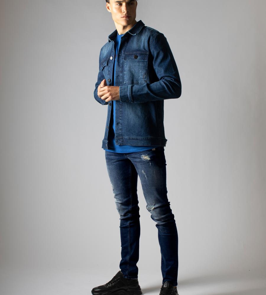 Jeans met Destroyed Details afbeelding 2