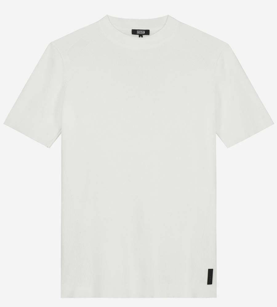 Effen Crewneck T-shirt afbeelding 1