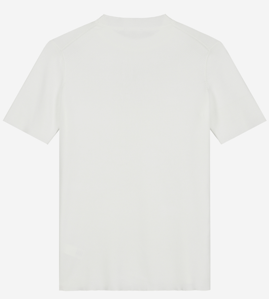 Effen Crewneck T-shirt afbeelding 3