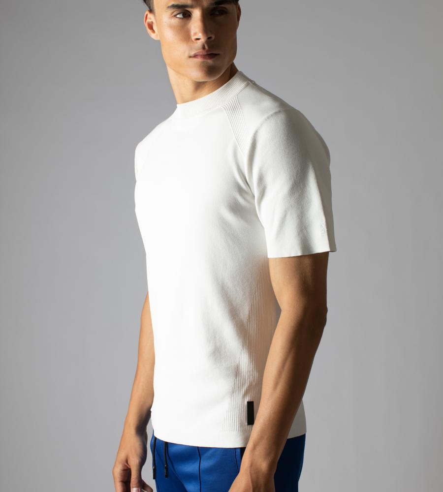 Effen Crewneck T-shirt afbeelding 2