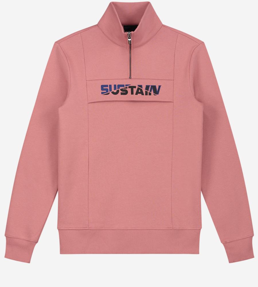 Effen Sweater met grafisch logo afbeelding 1