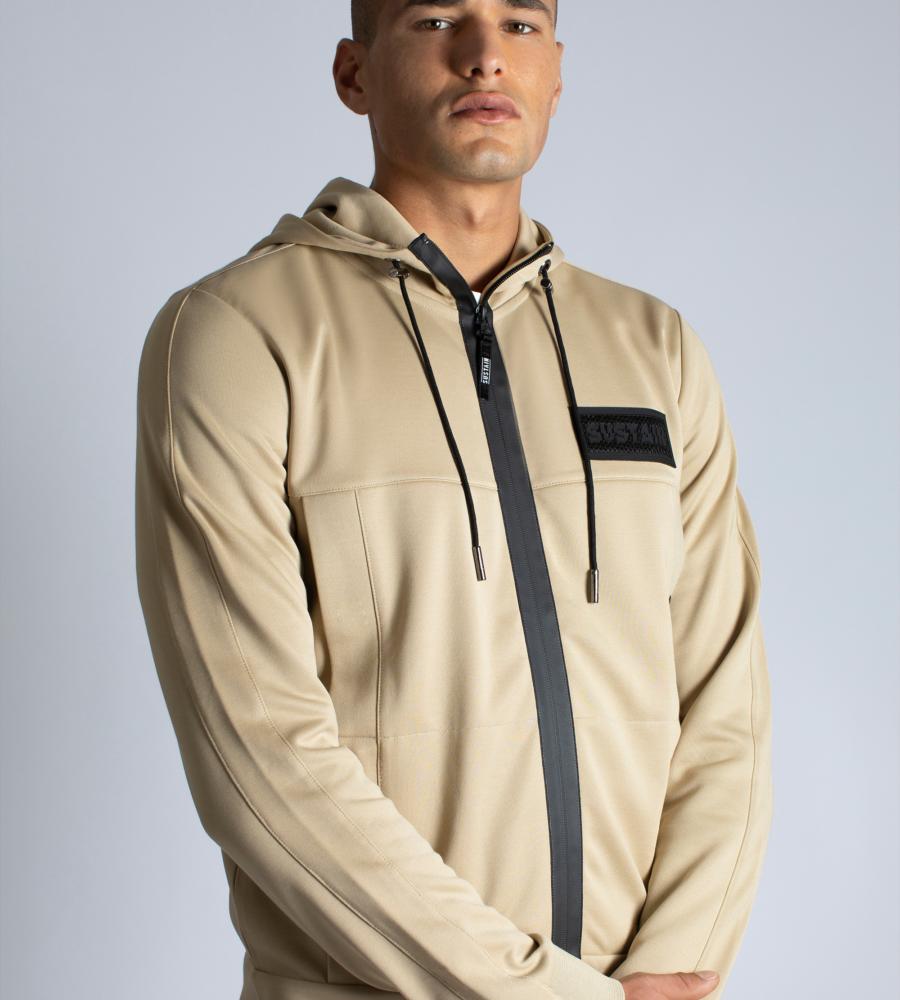 Hooded track jacket afbeelding 2