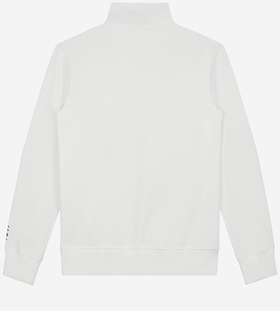Effen sweater met reflecterend logo afbeelding 3