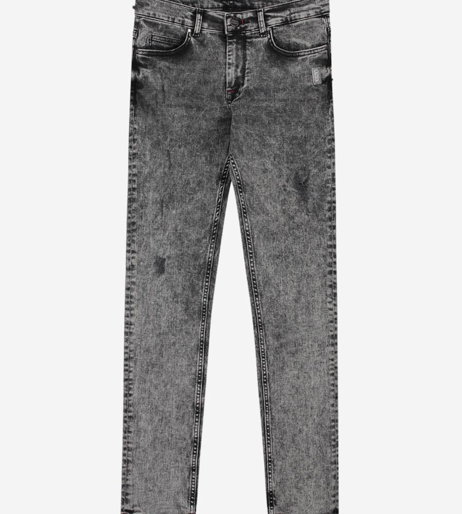 Jeans met grijze wassing afbeelding 1