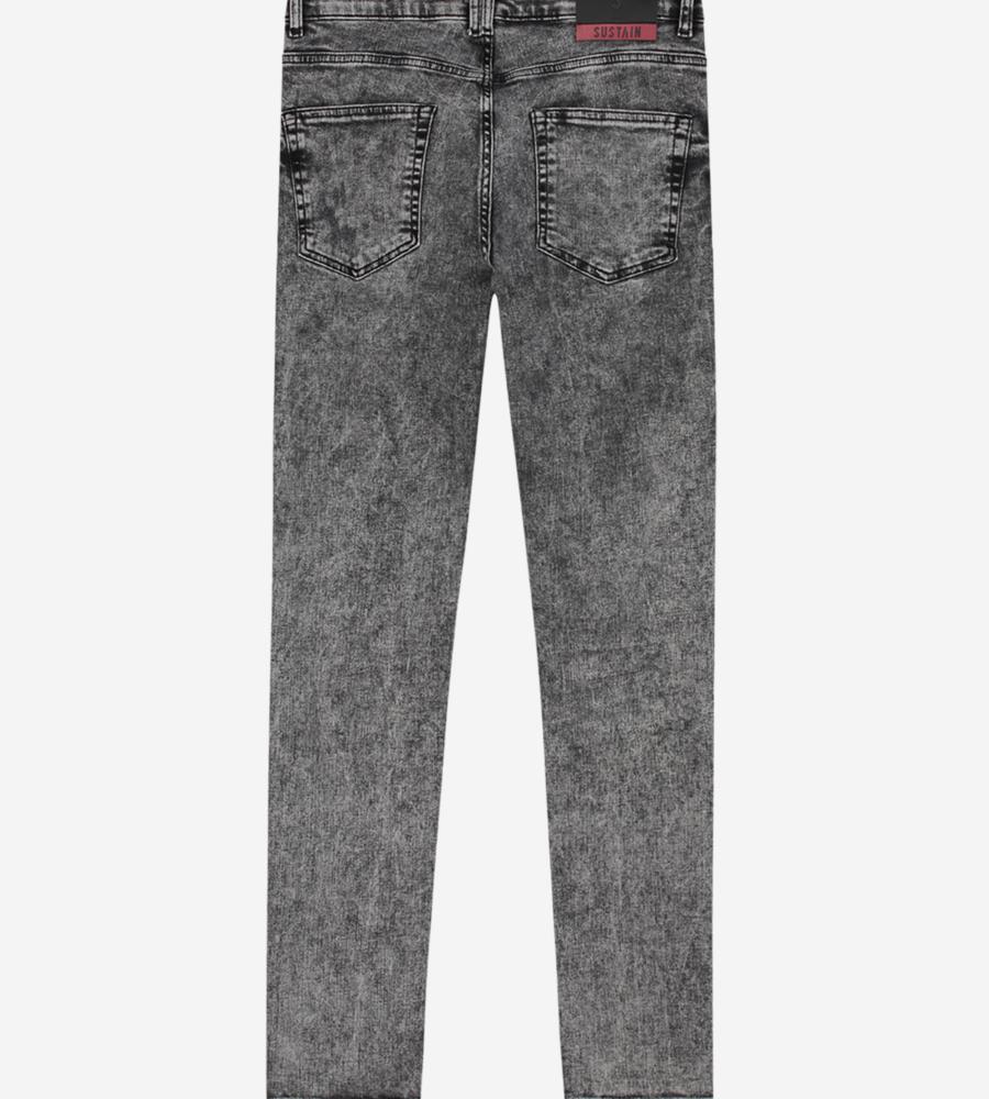 Jeans met grijze wassing afbeelding 3