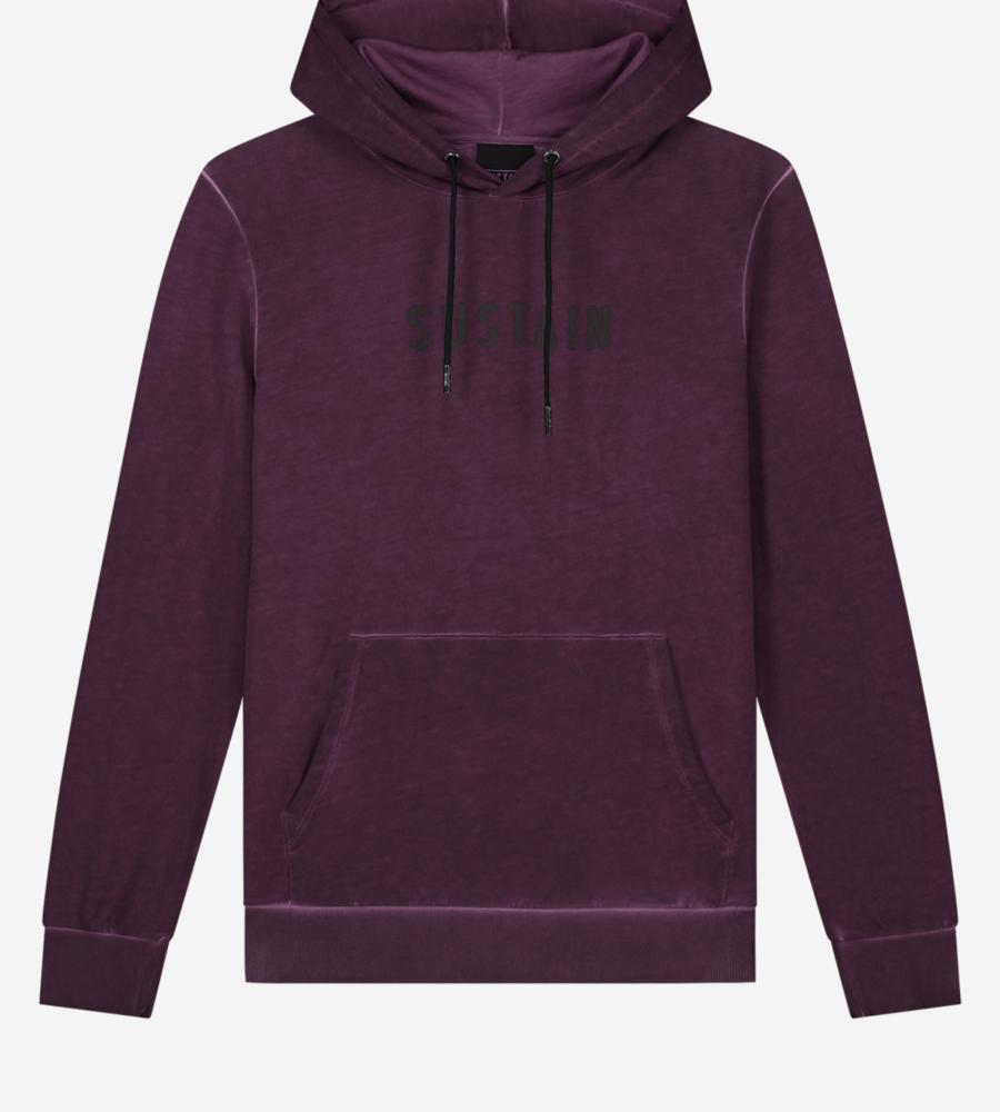 Hoodie met sustain logo afbeelding 1