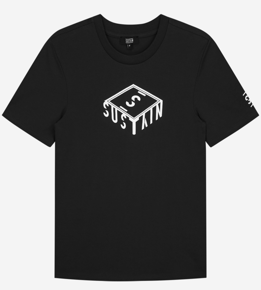 T-shirt Met 3D Box Logo afbeelding 1