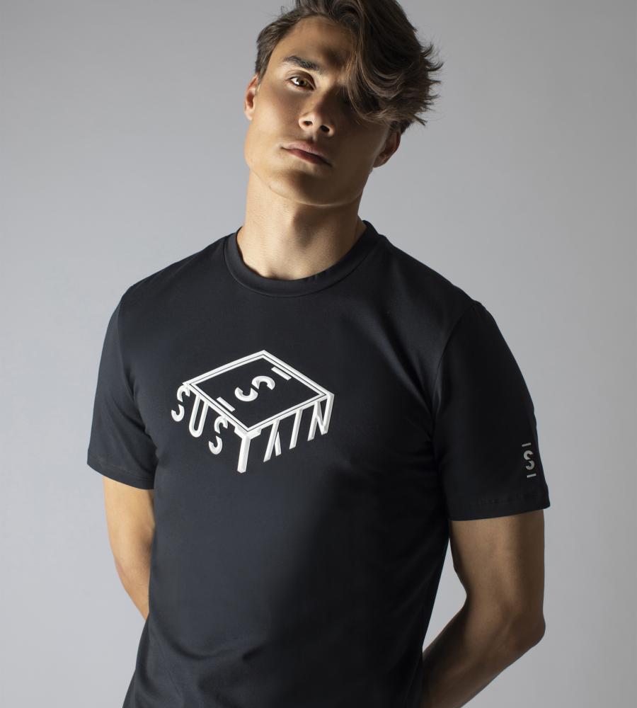 T-shirt Met 3D Box Logo afbeelding 2