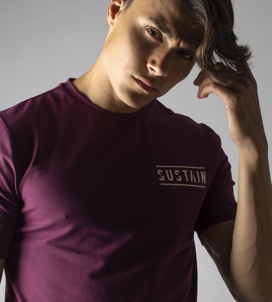 Grape wine t-shirt met logo afbeelding 3