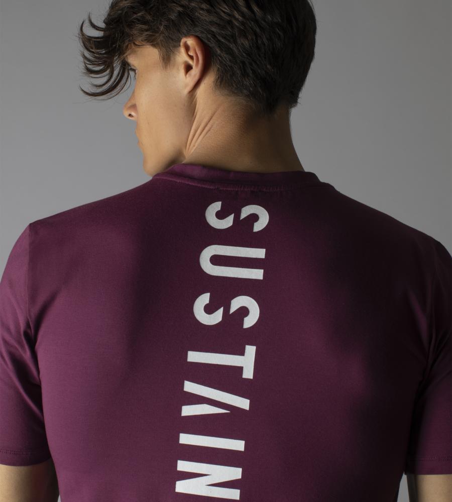 Grape wine t-shirt met logo afbeelding 2
