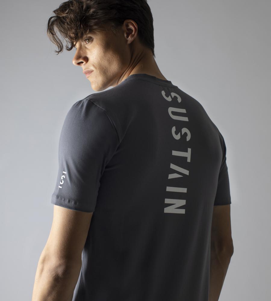 Grijs t-shirt met logo afbeelding 2