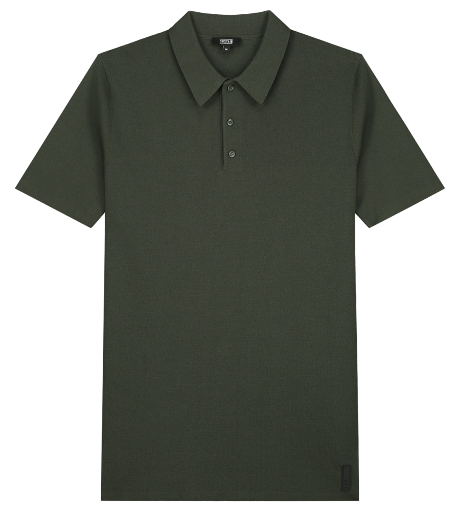 Knit polo afbeelding 1