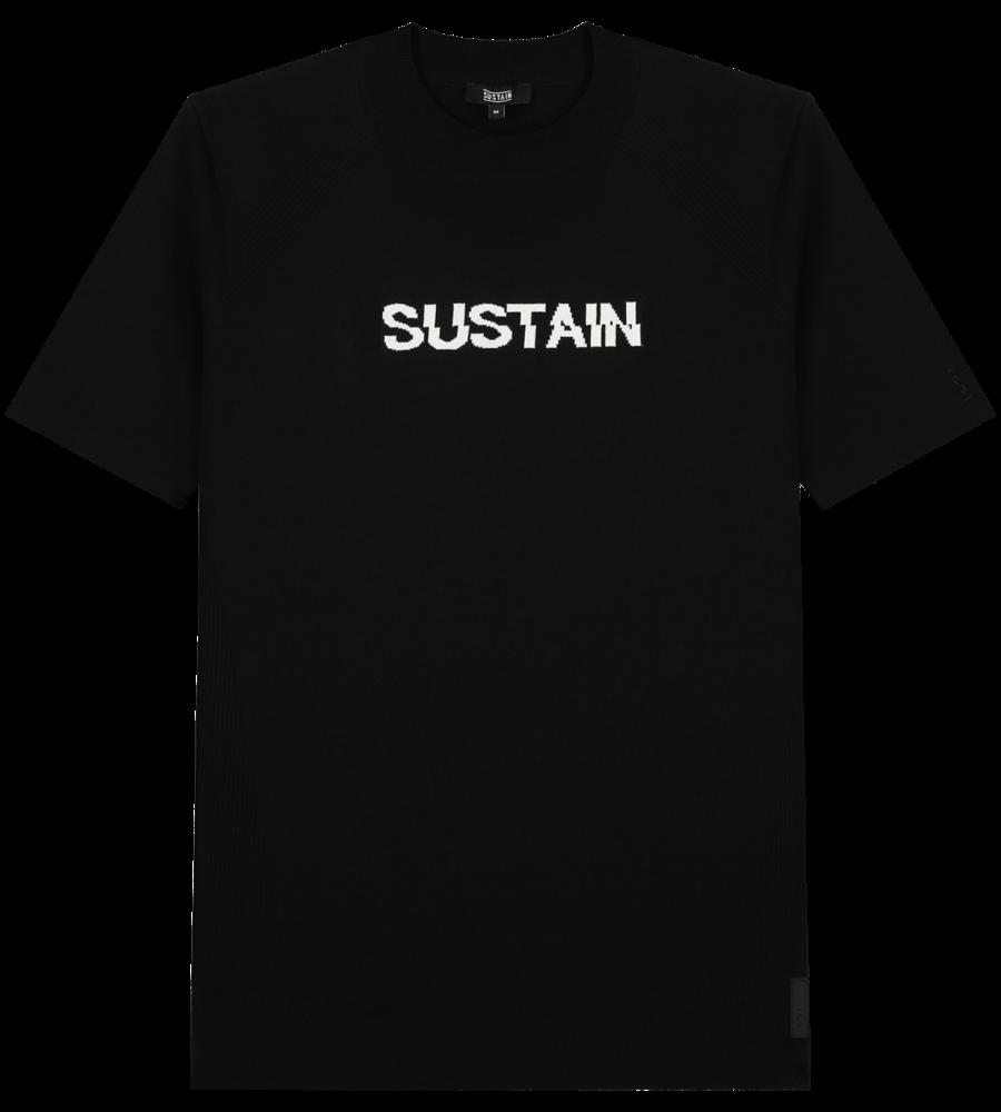 Knitted logo shirt afbeelding 1