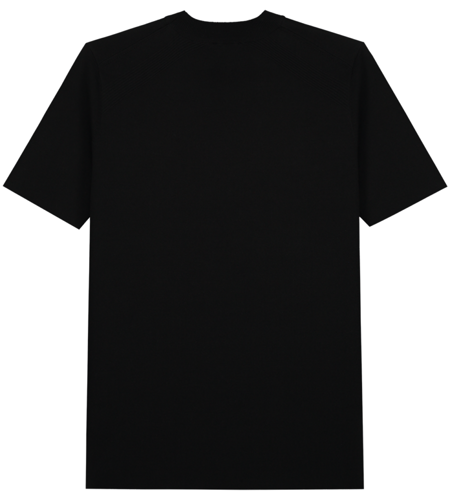 Knitted logo shirt afbeelding 2
