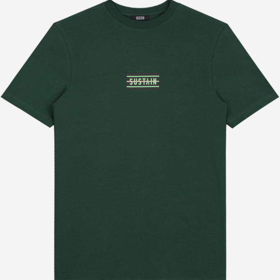 T-shirt met sustain logo