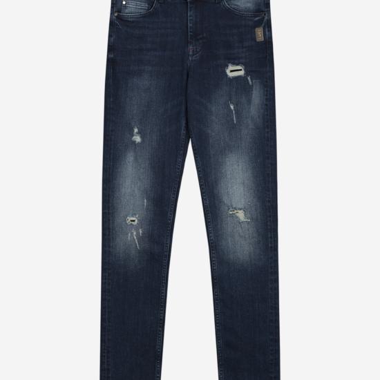 Jeans met Destroyed Details