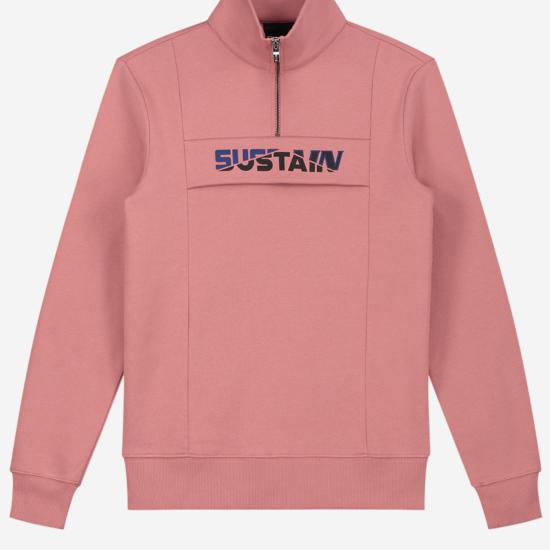 Effen Sweater met grafisch logo