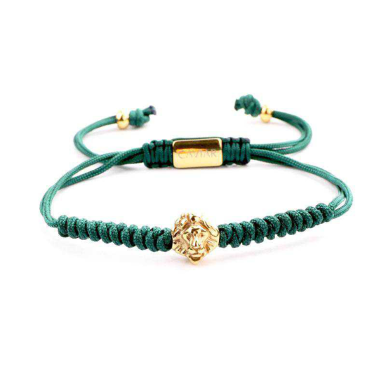 Caviar Collection - Lion Army Green x Gold