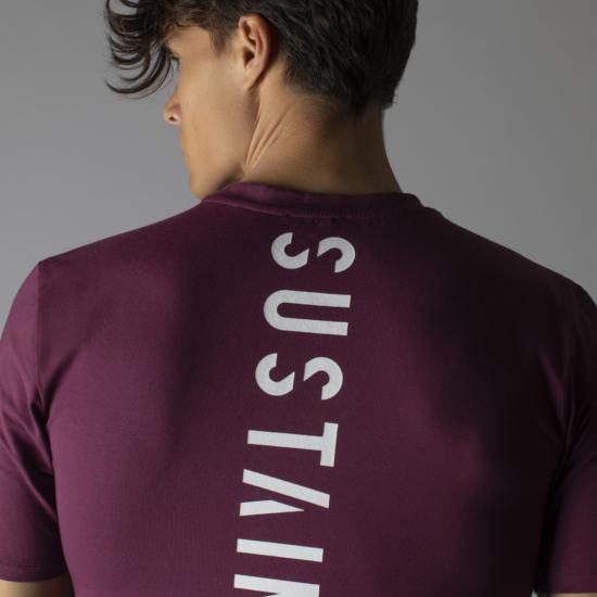 Grape wine t-shirt met logo