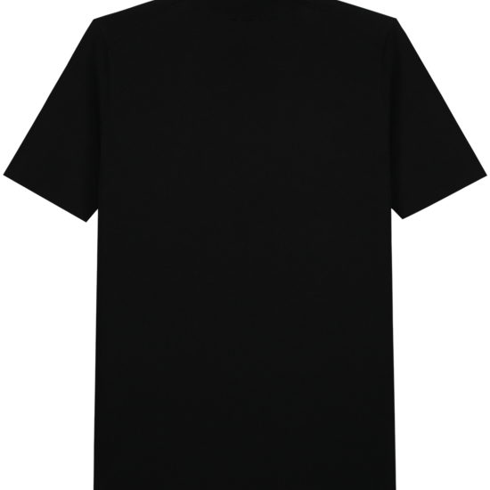 Knitted logo shirt